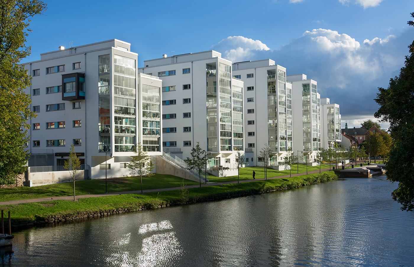Single Room - Bild frn Riverside Hotel & Apartments