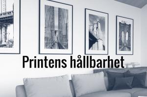Printens hållbarhet