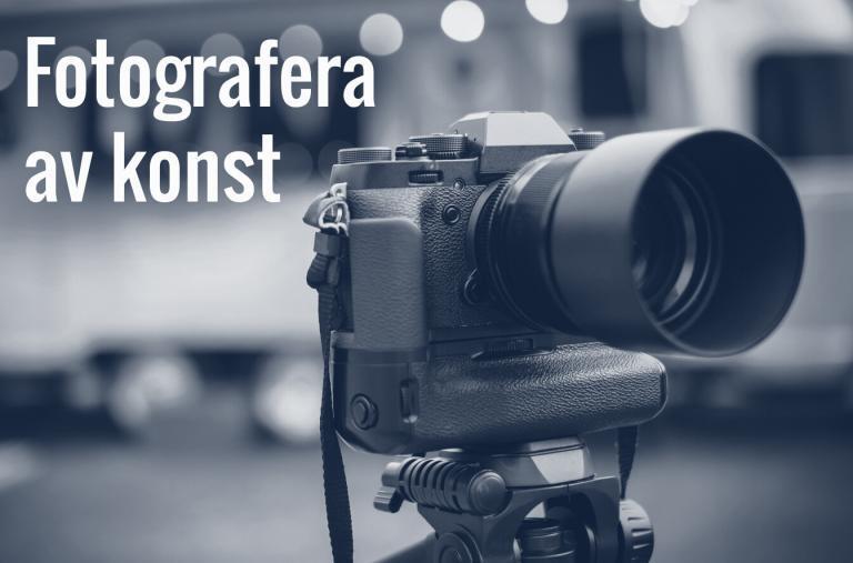 Fotografera av konst