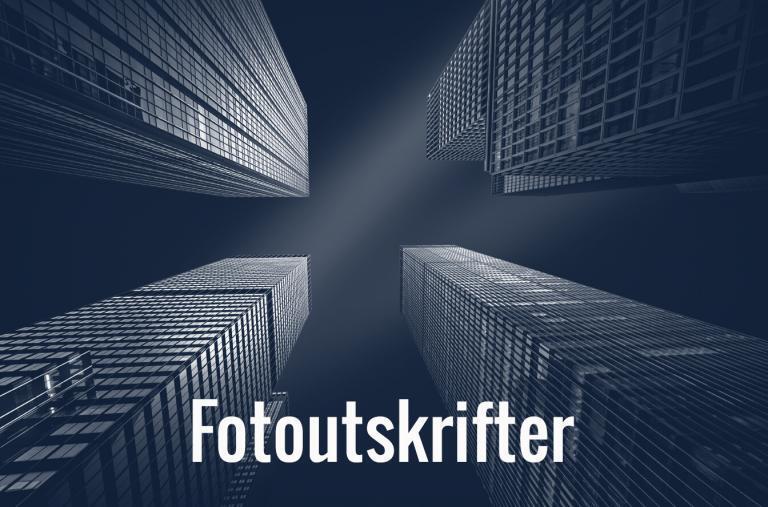 Fotoutskrifter fotoprint