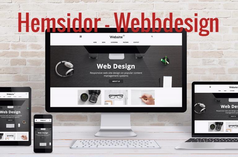Hemsidor - Webbdesign