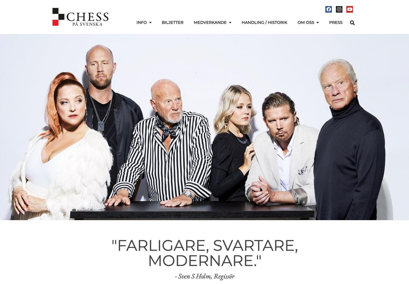 Chess på svenska