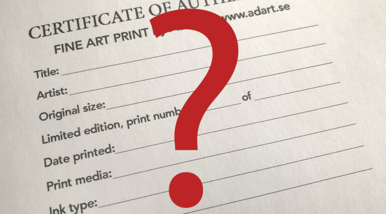 Vad är Fine Art Print?